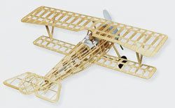 Nieuport II Guillows 203 Balsa Wood Model Airplane Kit