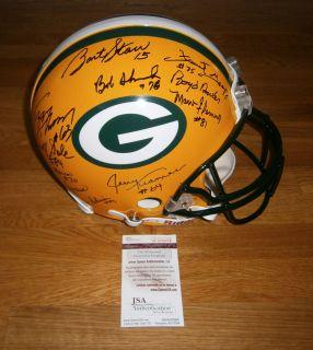 Super Bowl II team signed ProLine helmet JSA CO 27 AUTOS Bart Starr