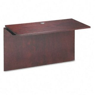 Basyx Bridge with Rich Wood Veneer for Desk and Credenza 48 x 24 x 29