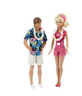 Toy Story 3 Barbie and Ken Hawaiian Vacation Exclusive