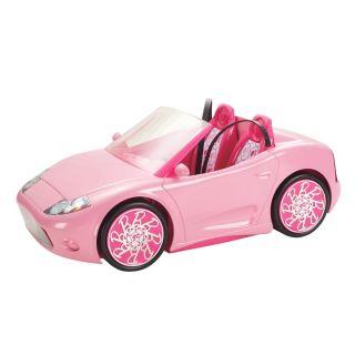 Mattel Barbie Doll Dream House Glam Pink Convertible Car NEW NIB