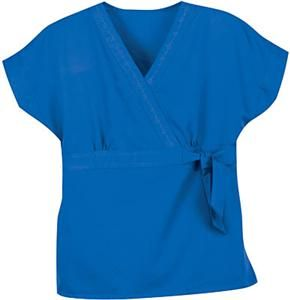 New Greys Anatomy by Barco Scrub Top Style 41154 Royal