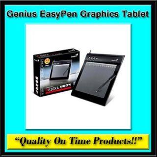 New Genius EasyPen M610XA Graphics Tablet Digital Drawing USB Touch