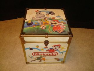 Nintendo Super Mario Bros Legend of Zelda Toy Game Storage Chest