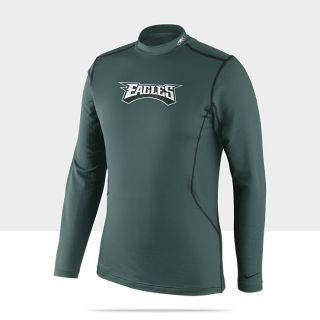 Combat Hyperwarm Long Sleeve NFL Eagles Mens Shirt 502412_339_A