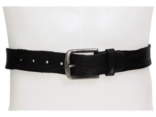 John Varvatos 38mm Centerbar Buckle Strap with Rolled Edges Belt
