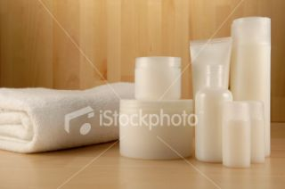 stock photo 4338255 spa cosmetics series