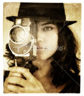 stock photo 12584789 la femme director