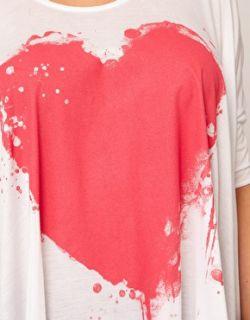 Image 3 of CURVE Exclusive Bleeding Heart Dip Back Top
