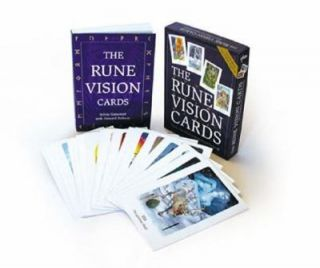 The Rune Vision Cards With 25 Cards by Sylvia Gainsford 2002, Kit