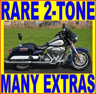 Harley Davidson  Touring 2009 RARE LIMITED 2 TONE HARLEY DAVIDSON