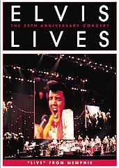 Elvis Lives The 25th Anniversary Concert (DVD, 2007, Keep Case) (DVD