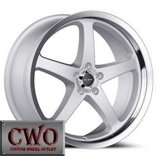 18 Silver Ruff R357 Wheels Rims 5x120 5 Lug BMW 1 3 Series GTO CTS