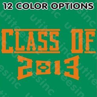 Class of 2013 Senior T Shirt High School / College Future Graduation