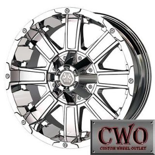 Mayhem Chaos Wheels Rims 8x180 8 Chevy GMC 2500 HD New Body 2011 2012