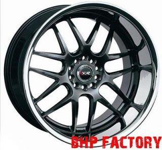 XXR 526 18 SPLIT SIZES 5x114+120 CHROME BLACK WIDE WHEELS BMW SKYLINE