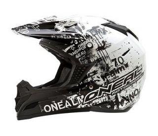 2012 ONEAL 5 SERIES TOXIC HELMET kids SMALL MOTOCROSS DIRT BIKE/ATV
