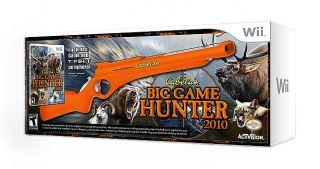 Cabelas Big Game Hunter 2010 Game Top Shot Gun Wii, 2009