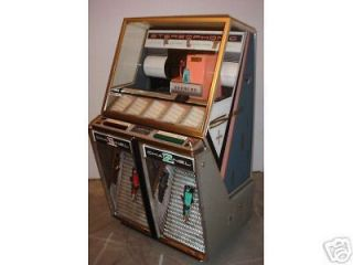 beautiful 1958 seeburg 220 stereophonic coin op jukebox time left
