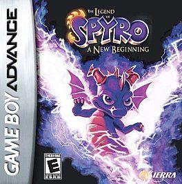 The Legend of Spyro A New Beginning Nintendo Game Boy Advance, 2006