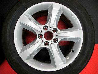 bmw oem 18 x5 wheels rims factory silver 5 spoke