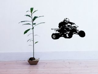 QUADRACYCLE BIKE SPORT CUTE WALL VINYL STICKER DECALS ART MURAL D2019
