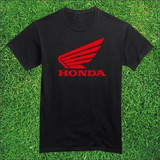 New Honda Wing Logo Motorcycle Men T Shirt (Goldwing Silverwing Ruckus