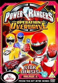 power rangers operation overdrive dvd in DVDs & Blu ray Discs