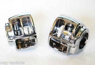 Chrome Housing Harley switch cover Sportster Dyna Softail V Rod XL FXD