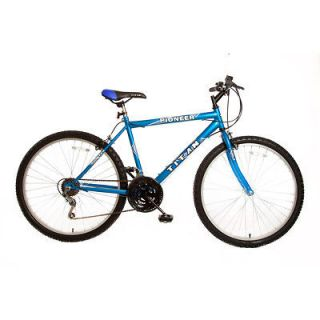 Titan Pioneer Hardtail Men 26 12 Speed Mountain Bicycle Bike Blue
