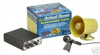 Newly listed Wolo Car Horn PA System, Animal House Siren Fun