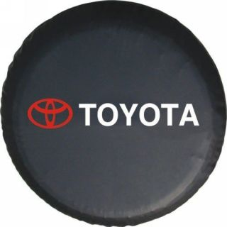 Toyota SUV 4WD Spare Wheel Tire 0.7mm Soft Cover 30 31 (Fits: Toyota