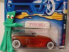 2001 hot wheels rat rods phaeton 59 htf variant red