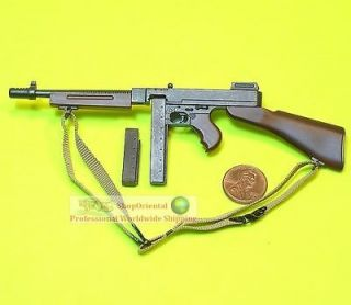 Scale Action Figure DRAGON WW2 US ARMY THOMPSON SUBMACHINE GUN