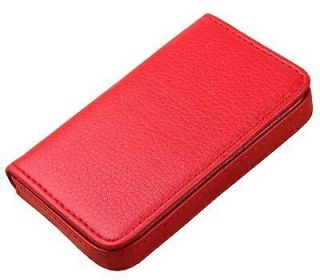 Leatherette Business Credit ID Card Holder Case Wallet B37R