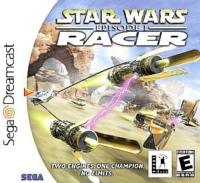 Star Wars Episode I Racer Sega Dreamcast, 2000