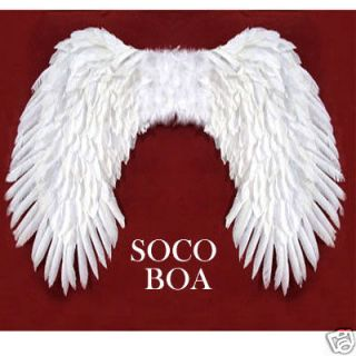 SUPER LARGE White Feather Costume Angel Wings Halloween cosplay Fairy