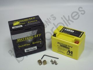 MotoBatt QuadFlex MBTX4U Battery for a MBK EW 50 Stunt (2000 2006)