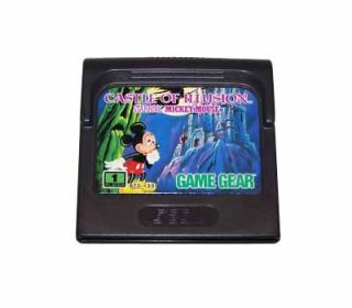 Castle of Illusion Starring Mickey Mouse Sega Game Gear