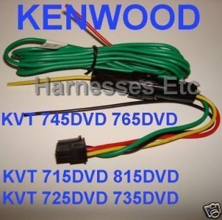 157826001_kenwood 8 pin power wire harness kvt 715dvd 815dvd moni panasonic 16 pin wire harness for older model dp series car stereo kenwood kvt-715 wiring harness at bayanpartner.co