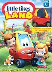 Little Tikes   Little Tikes Land DVD, 2008, Canadian