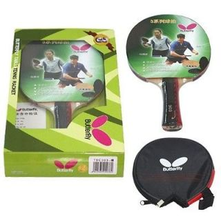 Butterfly table tennis racket(TBC3 series), case included Shakehand