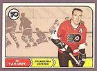 1968 69 OPC O Pee Chee Hockey Ed Van Impe 91 Philadelphia Flyers NMT