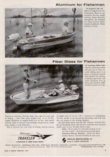 1961 arkansas traveler aluminum fiber glass boat ad time left