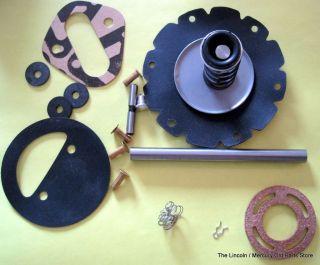 NEW 1963 1968 1/2 LINCOLN Fuel Pump Rebuild kit with NEW Fuel Pump