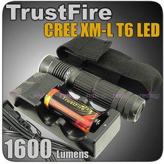Newly listed TrusTfire A8 26650 1600Lm CREE XM L XML T6 LED Flashlight