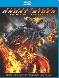 Ghost Rider Spirit of Vengeance Blu ray Disc, 2012, Includes Digital