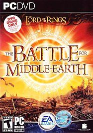 he Lord of he Rings he Bale for Middle earh DVD ROM Ediion PC