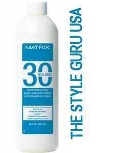 matrix socolor solite 30 volume developer liter 32oz time left