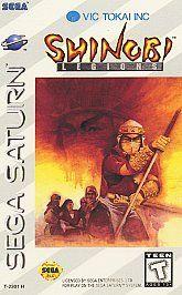 Shinobi Legions Sega Saturn, 1995
